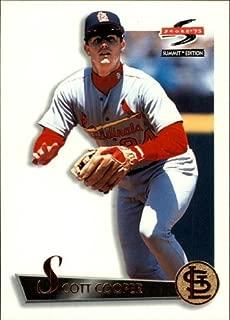 1995 Summit #86 Scott Cooper MLB Baseball Trading Card