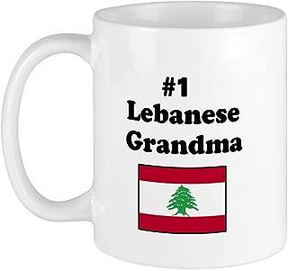CafePress #1 Lebanese Grandma Mug Unique Coffee Mug, Coffee Cup