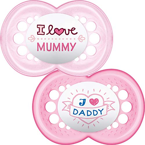 0//–/6/meses, I Love Mum Bibi Happiness Chupete I Love Mama