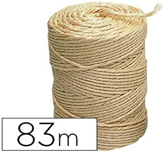 7665C16 Cuerda Sisal F Natural 6Mmx20M Ehs