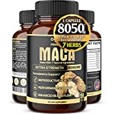 Best Maca Roots - 7in1 Premium Maca Root Capsules with Ashwagandha, Ginseng Review
