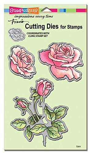 Stampendous Rose Garden Die Cut Set
