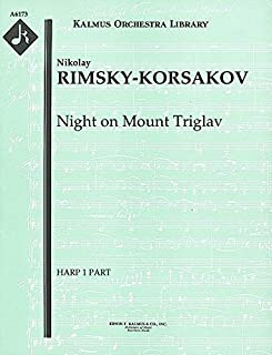 Night on Mount Triglav: Harp 1, 2 and 3 parts [A6173]