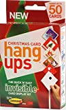 Christmas Card Hang Ups - Christmas Card Display Kit with Non Marking 3M Command Strips - Holds up to 50 Cards