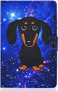 """JIan Ying Capa para Kindle Paperwhite 1/2/3/4 Geração 6"""" Capa protetora fina e leve cão preto"""