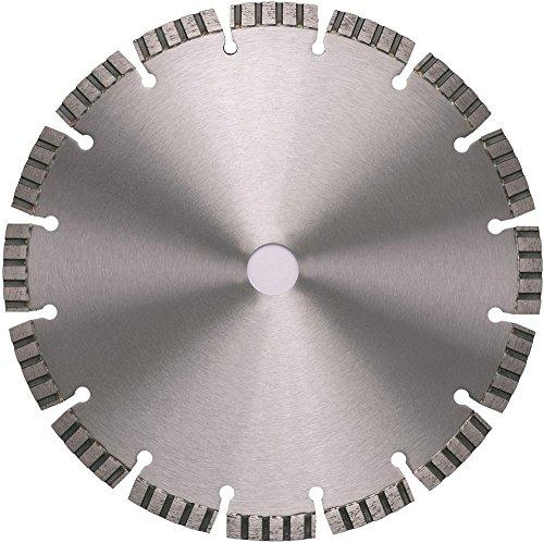 Diamant Trennscheibe Beton Granit 450 mm Turbo Segment 10 mm Laser Flexscheibe Motortrenner Bohrung 25,4 mm