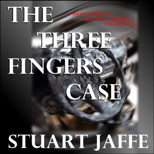 The Three Fingers Case audiobook cover art