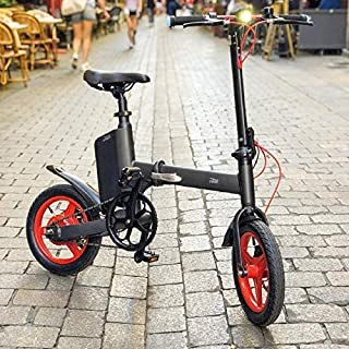 BEEPER Ivelo Fahrrad hopfällbar elcykel, svart, 990 x 1175 x 520 mm