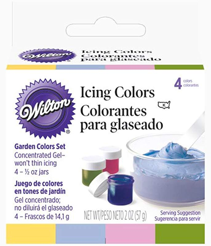 Wilton Icing Colors 5oz 4 Pkg Garden Tone
