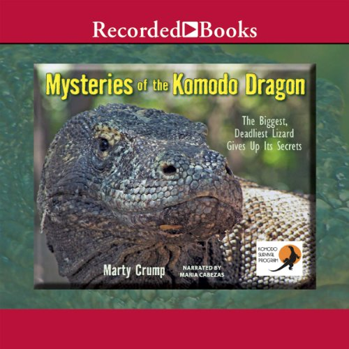 Mysteries of the Komodo Dragon audiobook cover art