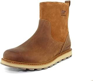 SOREL Mens Madson Zip Waterproof Elk Natural Boot - 11.5