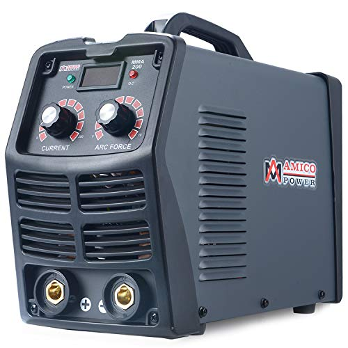 Amico MMA-180 Amp Stick ARC DC Inverter Welder, Digital Display LCD 110V & 230V Dual Voltage Welding Machine.