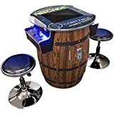 """Creative Arcades Full Size Commercial Grade Wine Barrel Style Pub Arcade Machine 