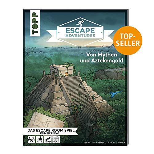 Escape Adventures –Von Mythen und Aztekengold: Das ultimative Escape-Room-Erlebnis jetzt auch als Buch! Mit XXL-Mystery-Map für 1-4 Spieler. 90 Minuten Spielzeit