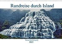 Eine Rundreise durch Island (Wandkalender 2022 DIN A3 quer): Impressionen unser Island Rundreise im Sommer. (Monatskalender, 14 Seiten )