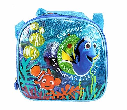 Disney Pixar Finding Dory - Nemo & Dory Insulated Blue Lunch Bag