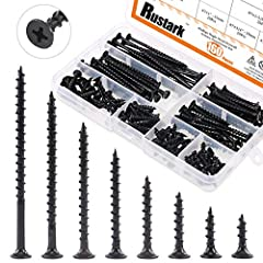 ★【PACKAGE INCLUDES】-- There are 8 most-used sizes selected for you, length includes: #7*5/8''-16mm, #7*3/4''-20mm, #7*1''-25mm, #7*1-1/4''-30mm, #7*1-5/8''-40mm, #7*2''-50mm, #7*2-1/2''-60mm, #7*3''-70mm, 20pcs each size, totally 160-pcs. You can cho...