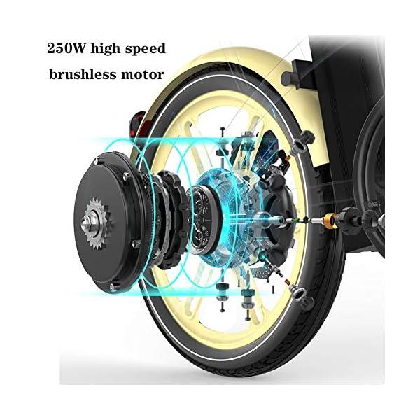 51LwebOWtzL. SS600  - WSCQ Damen City-E-Bike, Pedelec Citybike leicht 24 Zoll Vollreifen 250W und 16Ah, 36V Lithium-Ionen-Akku mit Fahrradkorb