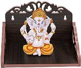 Wall Hanging Wood Home Temple Wooden Singhasan Temple for God/Laddu Gopal Sinhasan for Pooja Mandir/ Singhasan for Diwali,...