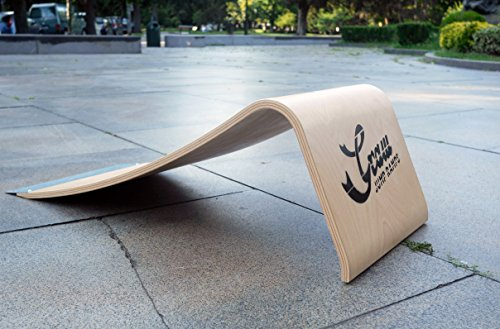 G35 PRO - Rampa da Salto Professionale, Altezza 35 CM - Per Skateboard, Monopattini, Pattini, RC e altro