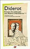 Entretien d'un philosophe avec Madame la Maréchale de ***