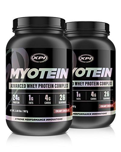 Myotein Premium Protein (Creamy Chocolate) 2 Pack - Advanced Whey Protein Powder Complex - Best Tasting Protein