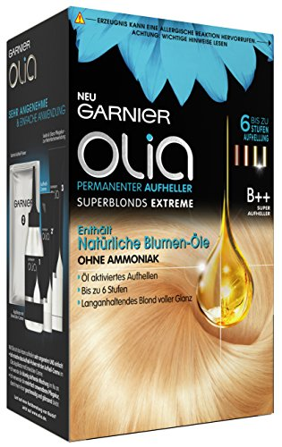Garnier Olia Haar Aufheller B++ Super Bleach superblonds extreme Haar Coloration, 3er Pack (3 x 1 Stück)
