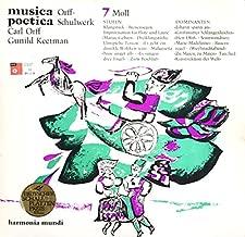 Carl Orff, Gunild Keetman - Musica Poetica Teil 7 - Orff Schulwerk - Moll: Stufen / Dominanten - Harmonia Mundi - HM 30906 X