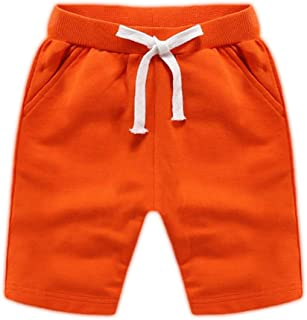 Ding Dong Baby Toddler Kid Boy Summer Solid Cotton Shorts