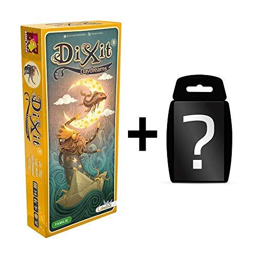 Preisvergleich Produktbild DIXIT - 5 Daydreams - Erweiterung-5 / DEUTSCH / Erweiterung vom Spiel des Jahres 2010 / Set inkl. Kartenspiel