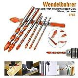 Alpenadler™ Multifunktionale Bohrer große Härte Unbesiegbar 5PCS,Professional Mehrzweck Bohrer...