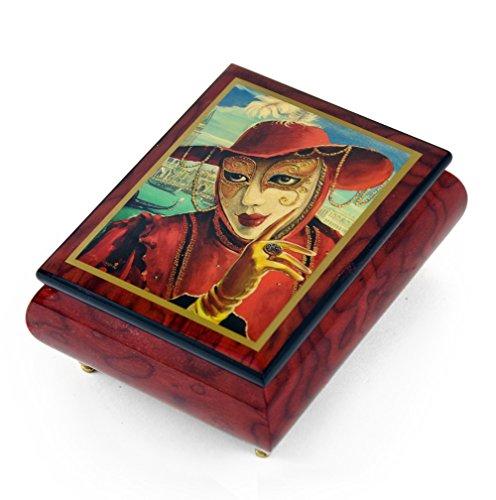 Handgemaakt Ercolano Music Box Featuring