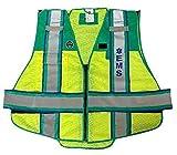 FIRE NINJA EMS VEST-Class 2 Reflective Public Safety Vest - Regular