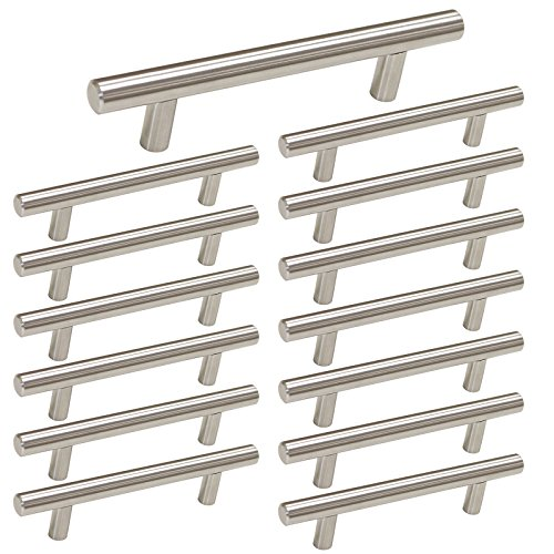 kitchen hardware brushed nickel - 2