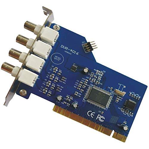 SATYCON Tarjeta VIDEOVIGILANCIA CCTV 4C PCI-4025 878A