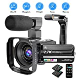 Best Hd Cameras - Video Camera Camcorder 2.7K Ultra HD YouTube Vlogging Review