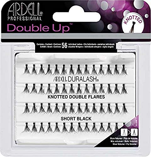 ARDELL Double Up Individuals Knotted Short Black Faux-cils
