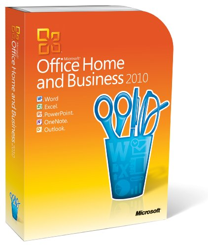 Microsoft Office Home and Business 2010 - 2PCs/1User - englisch