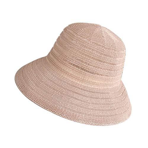 Meiibo Japanse visser hoed vrouwelijke zomer wild gezicht zon hoed zomer strand hoed 1 Stks voor dames voor een verscheidenheid van outdoor activiteitenM (56-58cm)