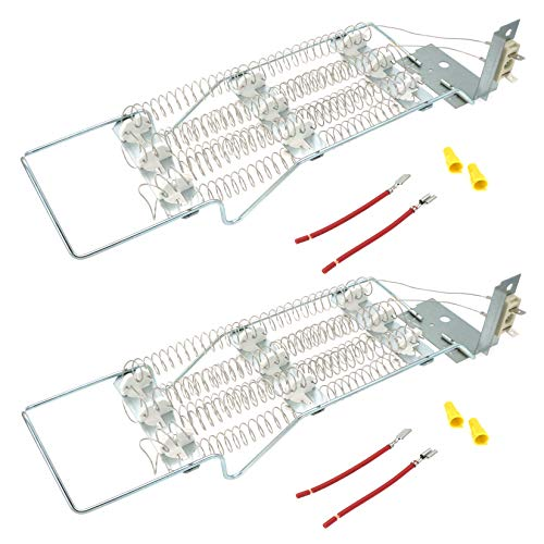 Price comparison product image Siwdoy (Pack of 2) 4391960 Dryer Heating Element Kit Compatible with Whirlpool Dryer WP4391960 AP3109438 PS373014
