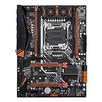 マザーボード ゲームマザーボードhuananzhi x99マザーボード付きM.2 NVME NGFFスロットLGA2011-3 DDR4 4チャンネル4 * USB3.0 6 * SATA3.0ポートAD4