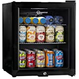 Subcold Super50 LED – Mini Fridge | 50L Beer, Wine & Drinks Chiller | LED Light + Lock & Key | Low Energy A+