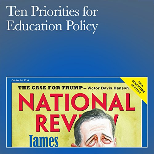 Ten Priorities for Education Policy audiobook cover art