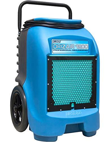Dri-Eaz F203-A 1200 18-gallon Compact Portable Refrigerant Dehumidifier (Pack of 2)