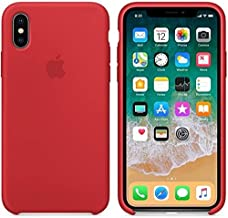 Apple iPhone X Silicone Case - red, MMWF2ZM/A The case is tightly closed - make sure you are the first to open it