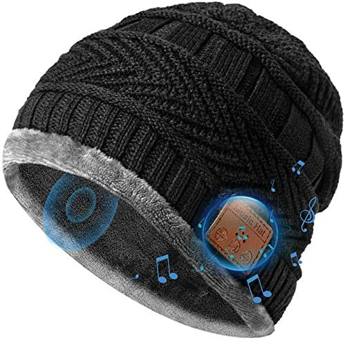 Bluetooth Beanie Hat Stocking Stuffers Gifts Idea for Men Women Bluetooth 5 0 Music Hat with product image