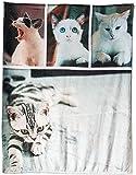 Manta Personalizada con tu Foto, Franela Regalos para Novio Novia Bebé Mascota Fotos Personalizadas Mantas Sofá Cama