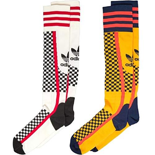 adidas Originals Womens Two Pack Socks Multicolor (UK 6.5-8 EU 40-42)