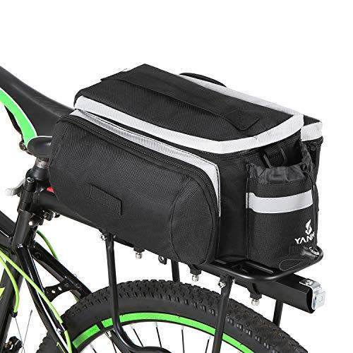 Lixada fietstassen bagagedrager multifunctionele fiets achterbank tas handtas schoudertas