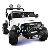Product Image of the Explorer 2 (Two) Seater 12V Power Kids Ride-On Car Truck with R/C Parental...